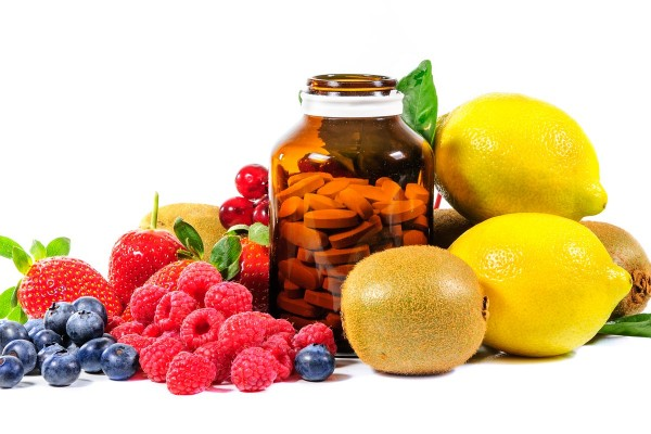 Healthfully Yours Vitamins and Fruit