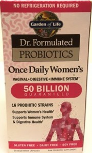 lly Yours Womens Gluten Free Probiotics