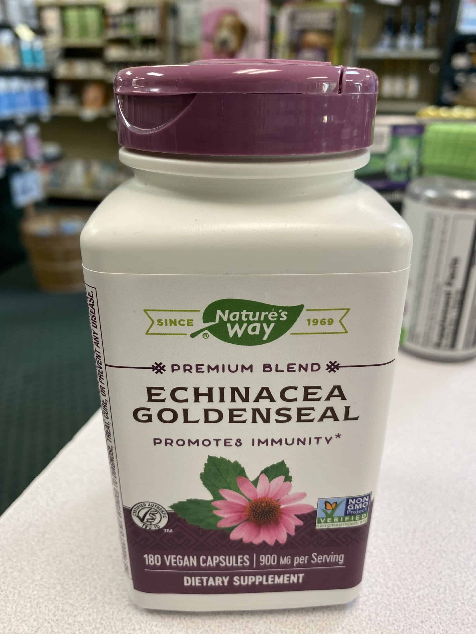 Natures Way - Echinacea Goldenseal - Immunity Support