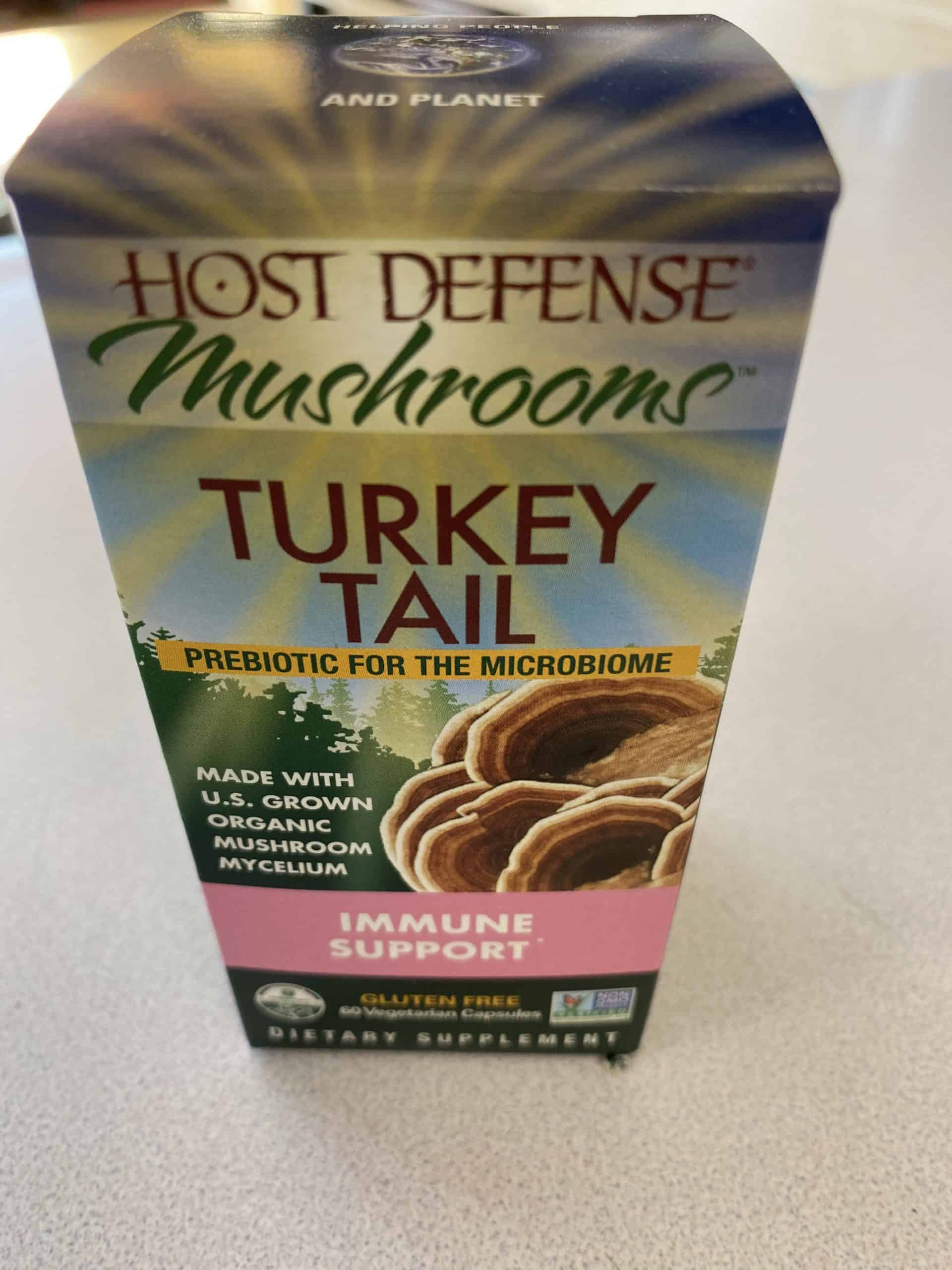 Immune Support - Host Defense - Mushrooms Turkey Tail