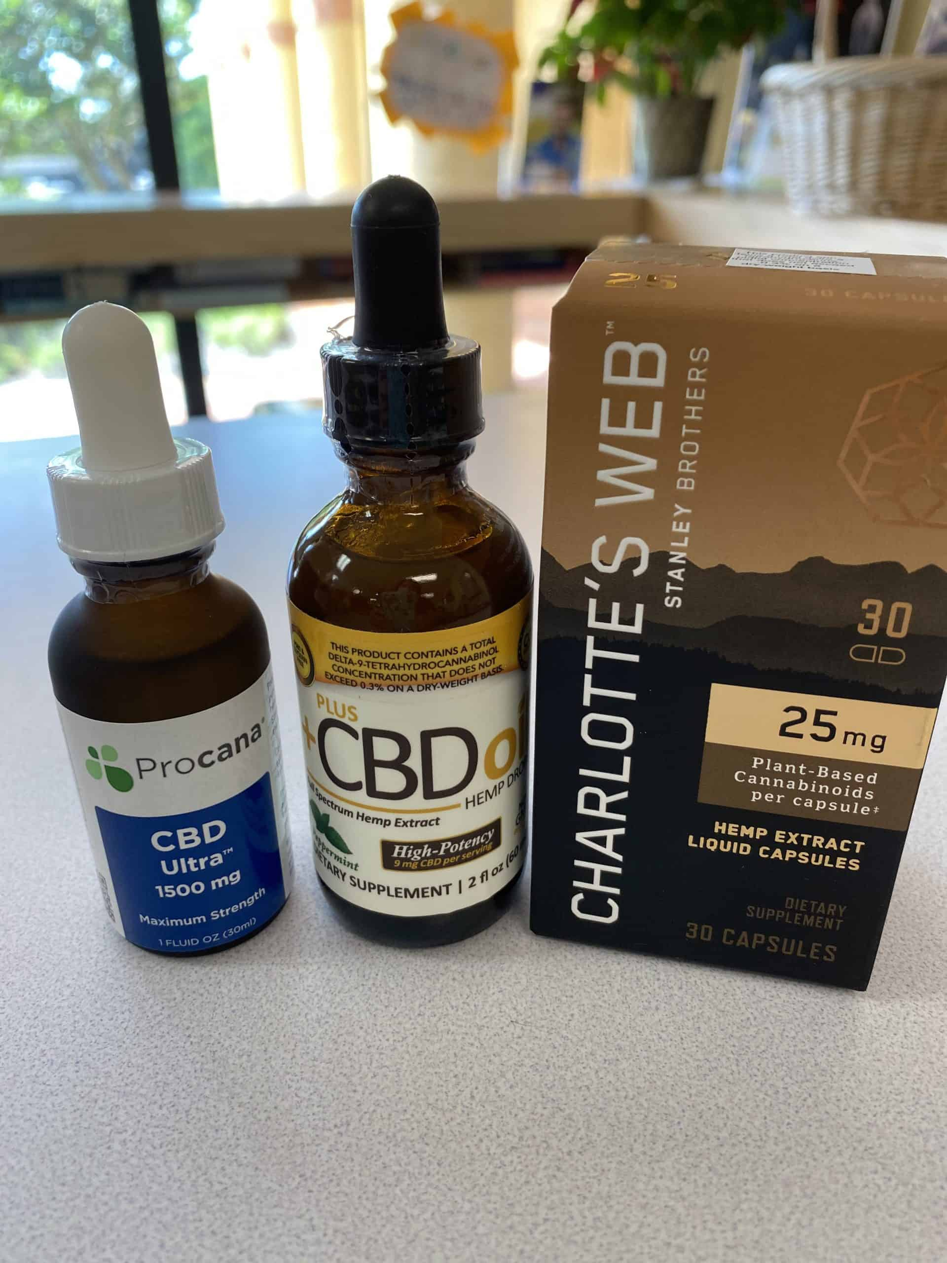Stress relief - CBD Products